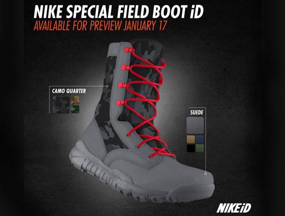 Nike Special Field Boot iD « solefreshsoleclean 68d1a8daf