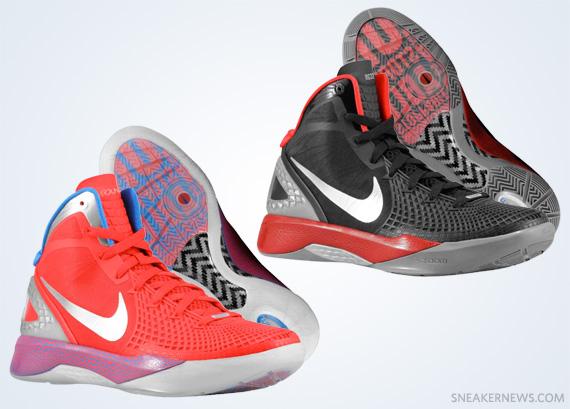 2fa66b6a5ada Nike Zoom Hyperdunk 2011 Supreme – Blake Griffin PE s « solefreshsoleclean